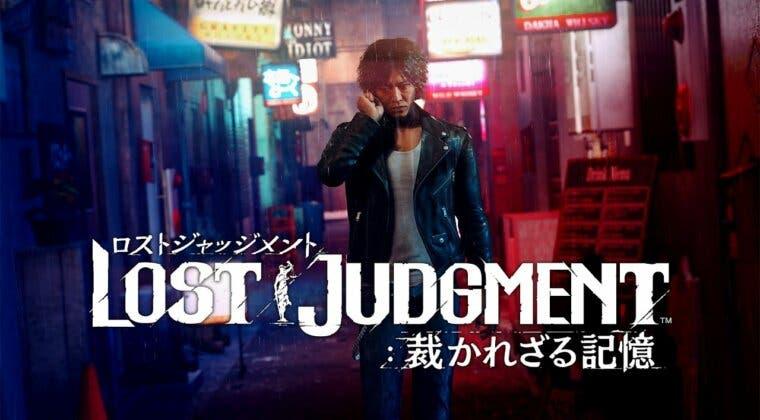 Imagen de Lost Judgment introduce a su elenco de personajes a través de su cinemática de apertura