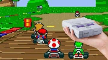 Imagen de Descubren que el prototipo de Super Mario Kart de SNES contaba con esta increíble función que nunca vio la luz