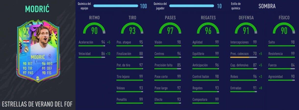 FIFA 21: De Jong TOTS vs Modric Summer Stars. ¿Quién es el mejor MC ofensivo de la Liga Santander? Ultimate Team. Stats in game de Modric