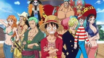 Imagen de One Piece y ¿Dónde está Wally? se unen en esta desafiante imagen