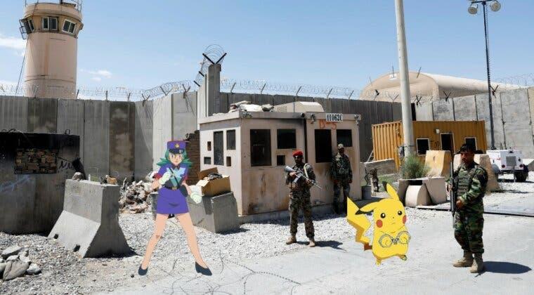 Imagen de Los soldados americanos de la base de Bagram (Afganistán) jugaban a Pokémon GO
