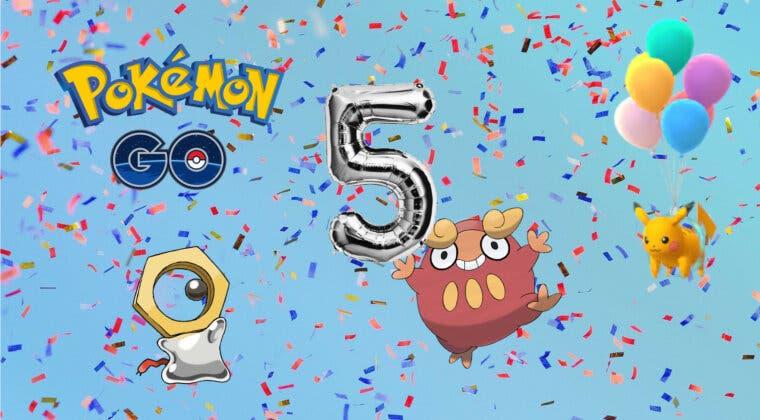 Imagen de Pokémon GO celebra su 5º aniversario con Pikachu Vuelo, Darumaka y Meltan