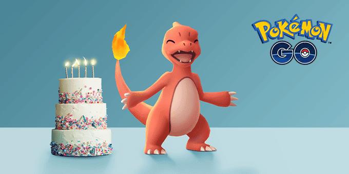 Pokemon GO Charmeleon 5 aniversario