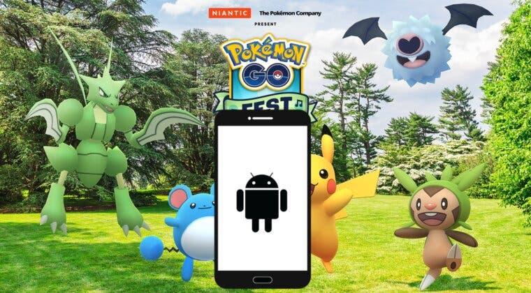 Imagen de Pokémon GO Fest 2021: Ventajas de tener un móvil Android