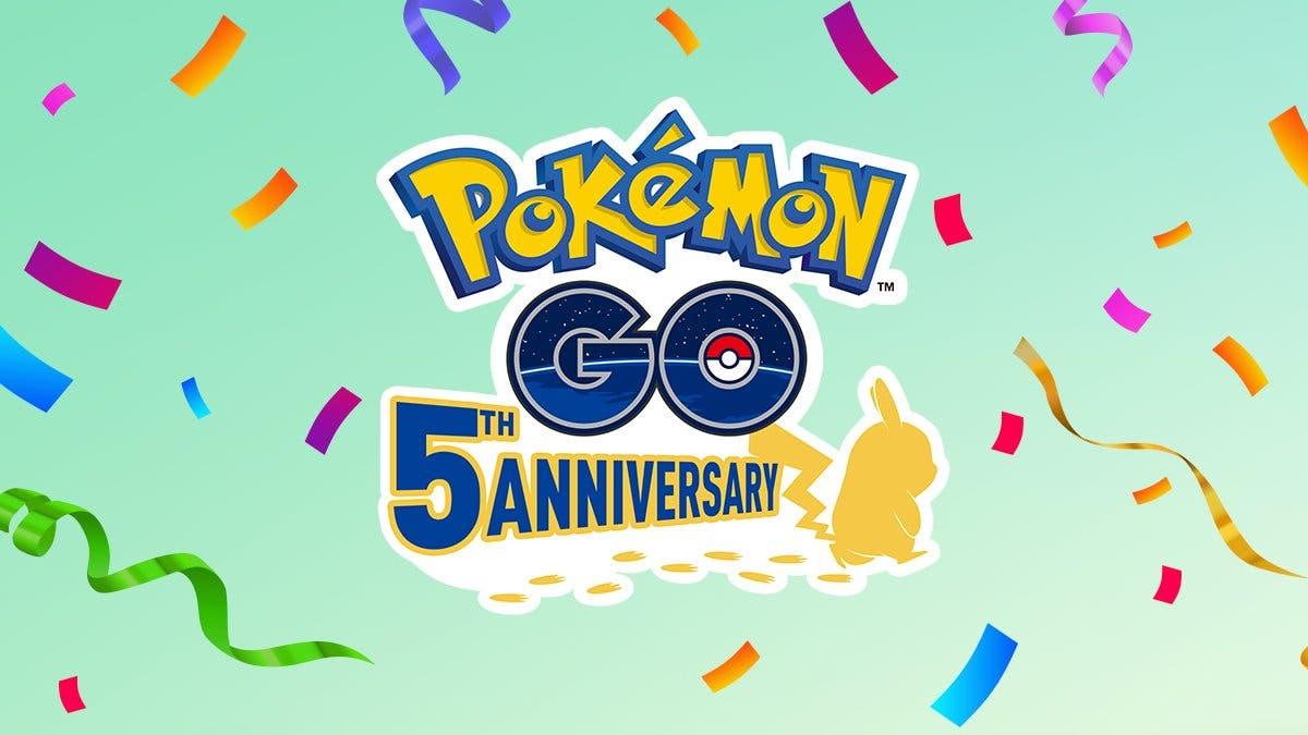 Pokemon GO quinto aniversario