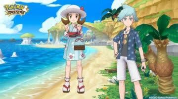 Imagen de Pokémon Masters EX recupera el evento de verano de Lira y Máximo