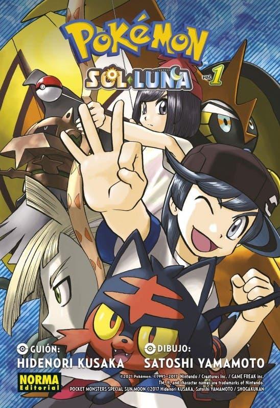 Pokemon Sol y Luna 1 manga