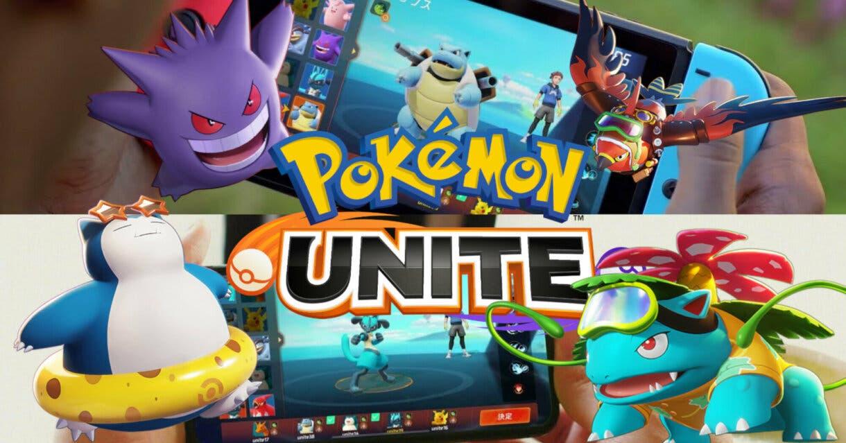 Pokemon UNITE portada