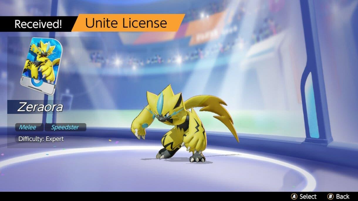 Pokemon UNITE recepcion Zeraora