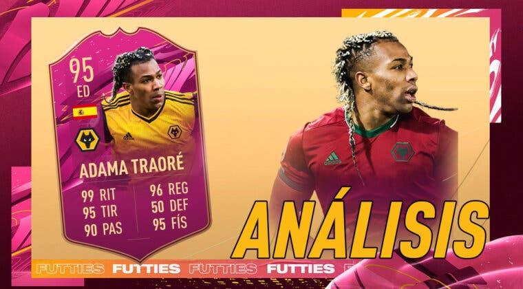 Imagen de FIFA 21: análisis de Adama Traoré FUTTIES gratuito. ¿Atacante top para Premier League y España?
