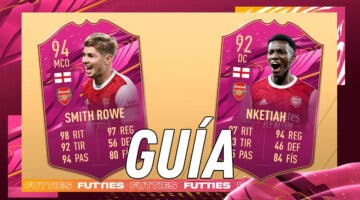 Imagen de FIFA 21: guía para conseguir a Smith Rowe y Nketiah dúo dinámico FUTTIES