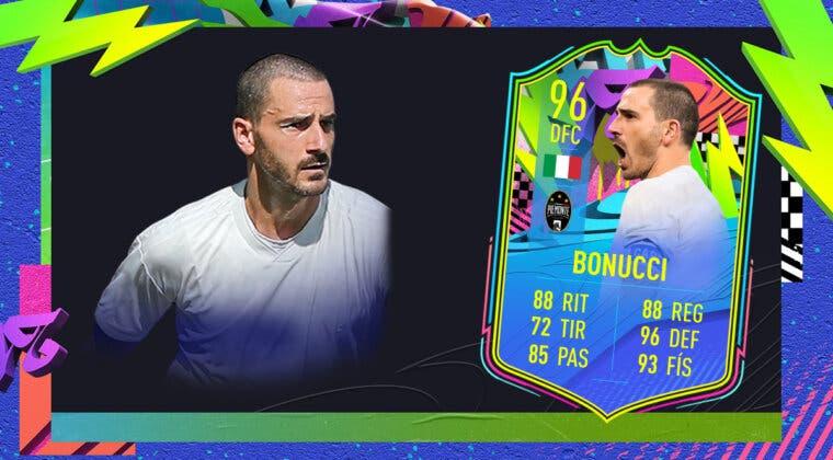 Imagen de FIFA 21: ¿Merece la pena Leonardo Bonucci Summer Stars? + Solución del SBC