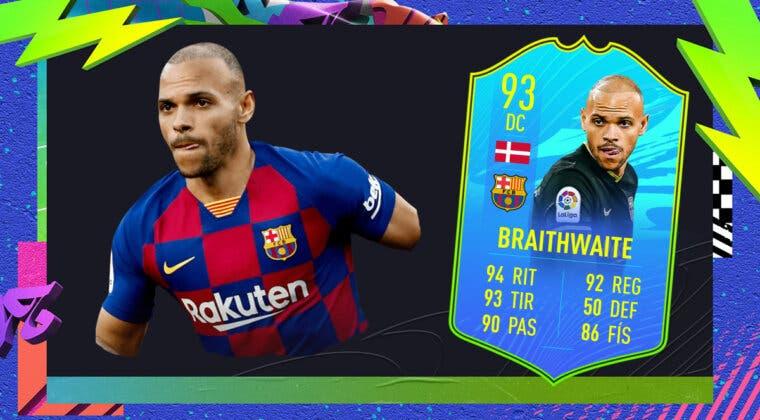 Imagen de FIFA 21: ¿Merece la pena Martin Braithwaite Jugador de Nación? + Solución del SBC