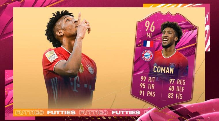 Imagen de FIFA 21: ¿Merece la pena Kingsley Coman FUTTIES? + Solución del SBC