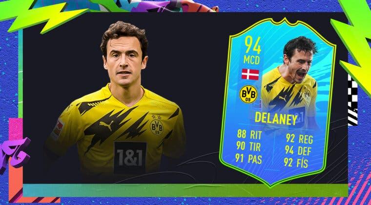 Imagen de FIFA 21: ¿Merece la pena Thomas Delaney Jugador de Nación? + Solución del SBC