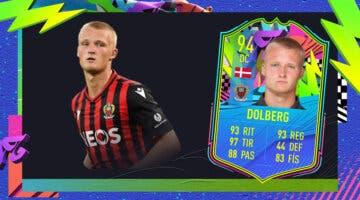 Imagen de FIFA 21: ¿Merece la pena Kasper Dolberg Summer Stars? + Solución del SBC