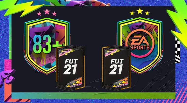 """Imagen de FIFA 21: ¿Merecen la pena los SBC's """"Mejora de 83+ x10"""" y """"Desafío del Festival de FUTbol""""?"""