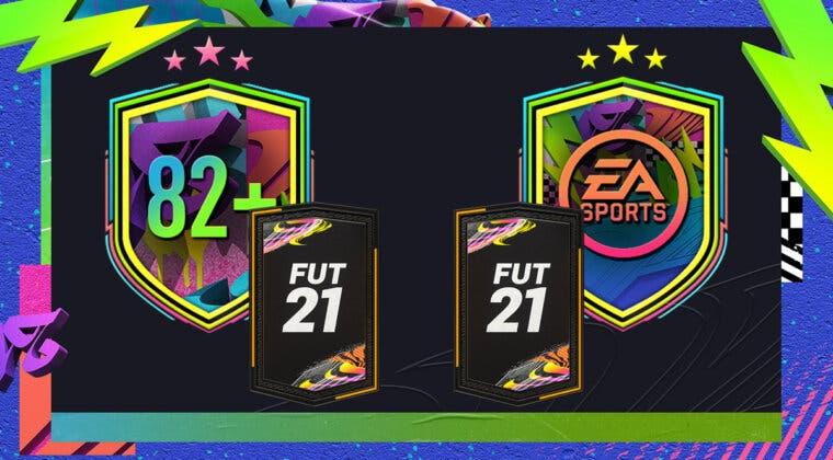 """Imagen de FIFA 21: ¿Merecen la pena los SBC's """"Mejora de 82+ x10"""" y """"Desafío del Festival de FUTbol""""?"""