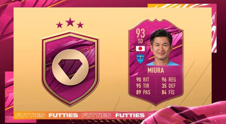 Imagen de FIFA 21: ¿Merece la pena Kazuyoshi Miura FUTTIES? + Solución del SBC