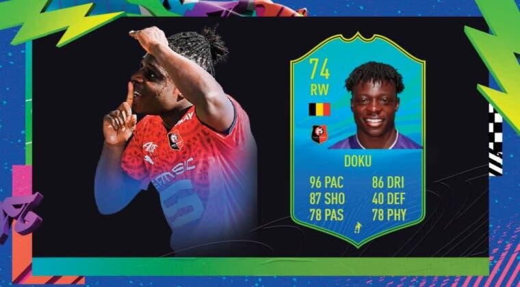 Imagen de FIFA 21: Doku Jugador de Nación de Plata, con cinco estrellas de filigranas, es la nueva versión gratuita de Ultimate Team