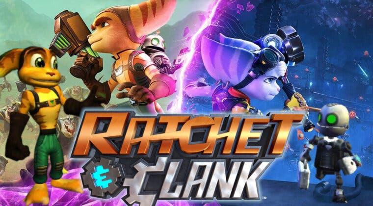 Imagen de ¿Cómo ha cambiado Ratchet and Clank a lo largo de toda su historia? De los 128 bits a Una dimensión aparte