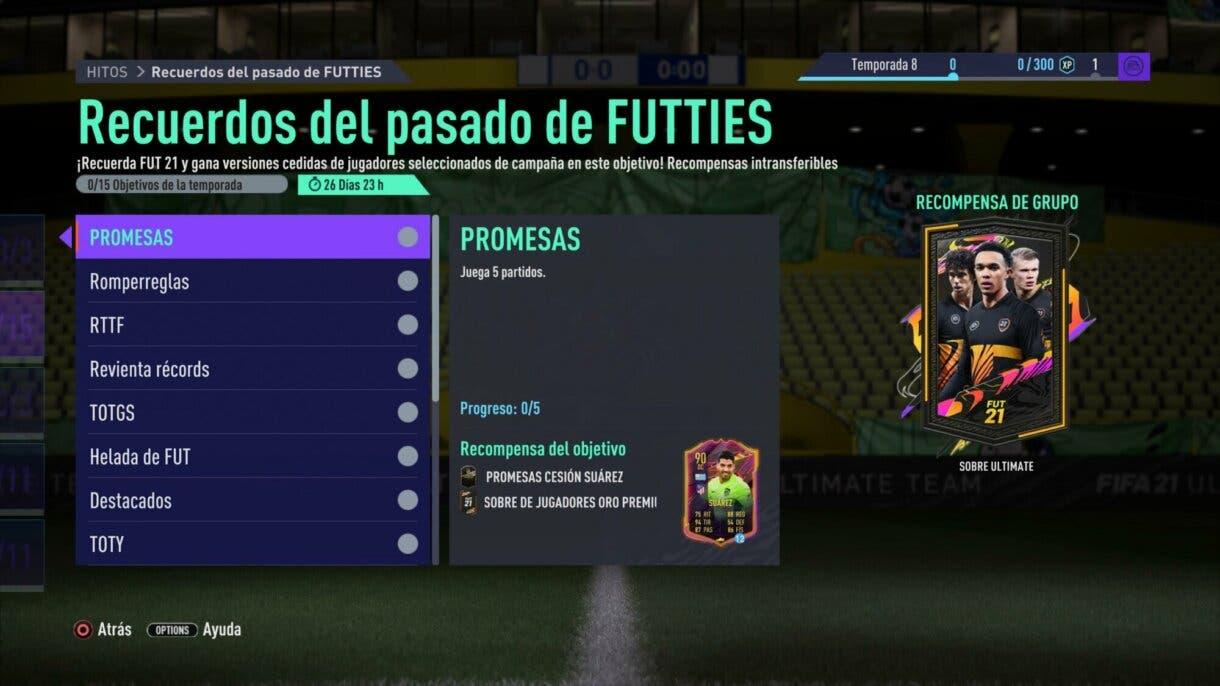 """FIFA 21: los nuevos Hitos nos permiten conseguir el mejor sobre de Ultimate Team, muchas cartas especiales cedidas y otros packs gratuitos Ultimate Team """"Recuerdos del pasado de FUTTIES"""""""