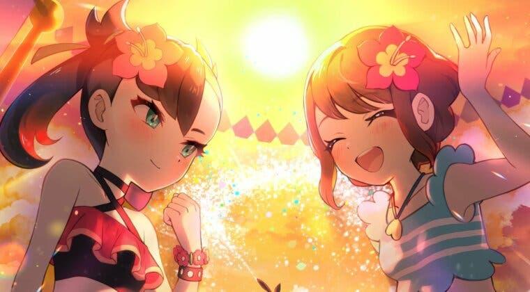 Imagen de Pokémon Masters EX inicia el evento de verano de Roxy y Gloria