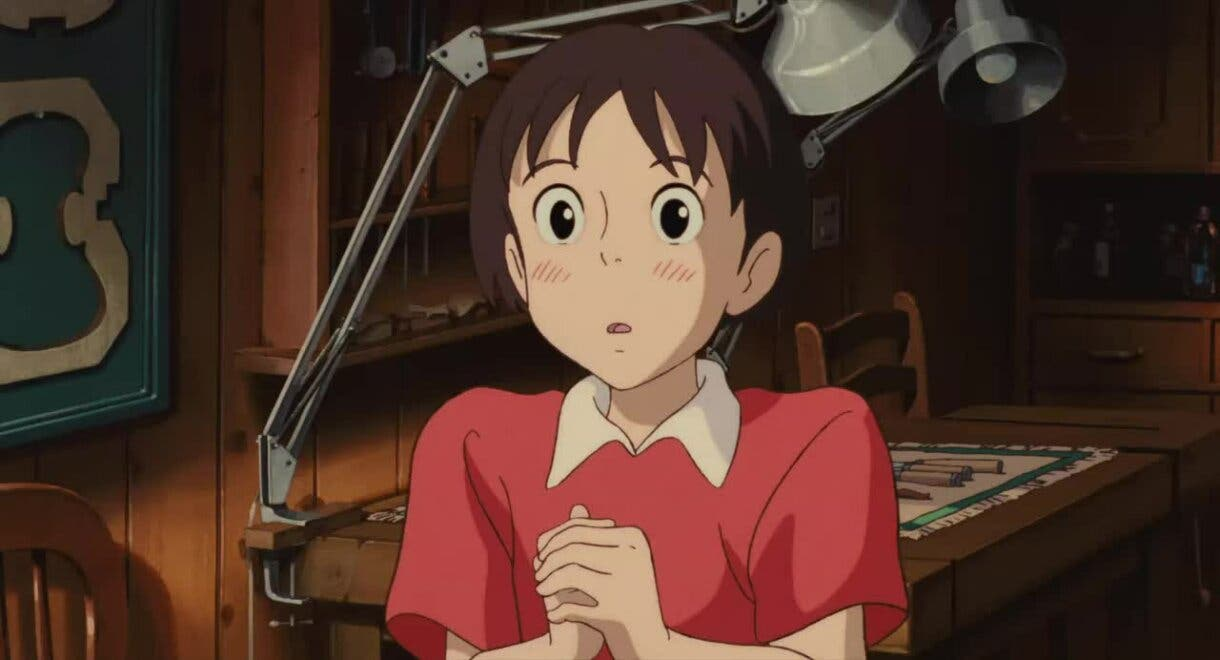 Shizuku Susurros del Corazon Studio Ghibli