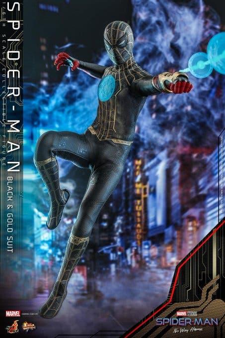 spider man 3 hot toy