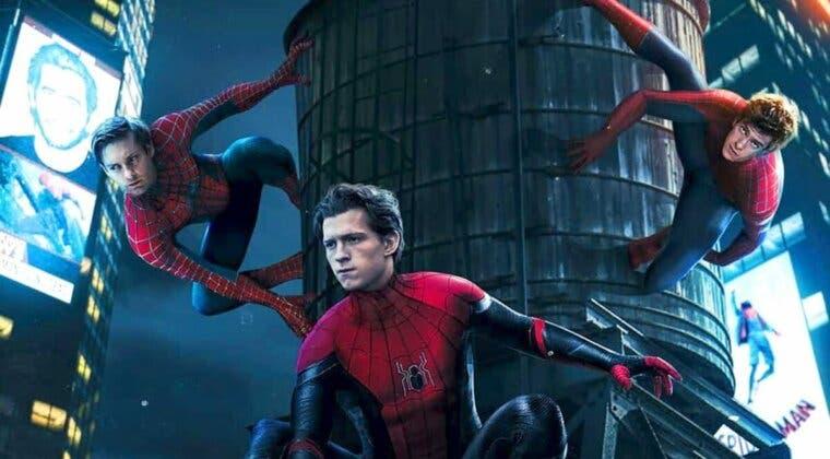 Imagen de Flipa con este 'hot toy' de Spider-Man: No Way Home en el que vemos a Tom Holland con el traje negro