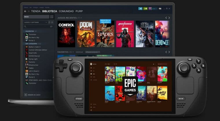 Imagen de Steam Deck permitirá instalar el cliente de Epic Games, esto opina Tim Sweeney sobre la consola