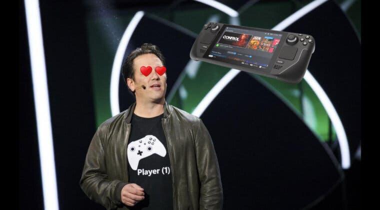 """Imagen de Phil Spencer, jefe de Xbox, sobre Steam Deck: """"Se ve realmente genial"""""""