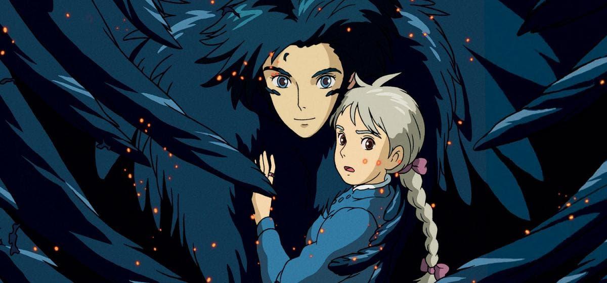 Studio Ghibli Howl y Sophie