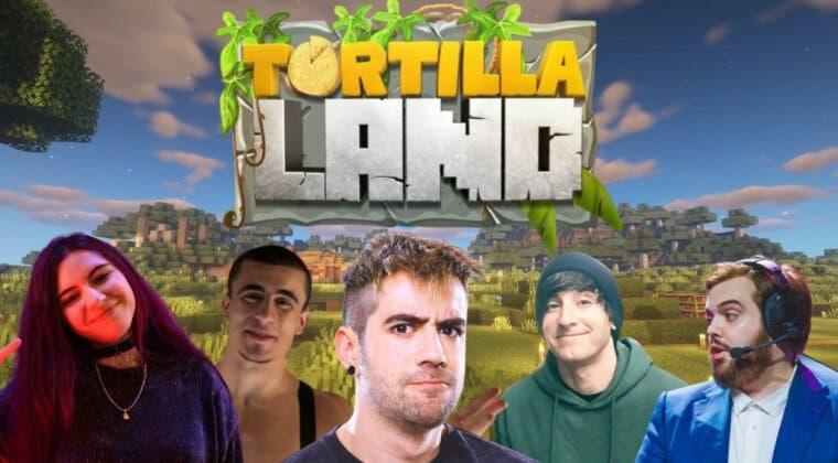 Imagen de Todos los participantes de Tortillaland, la serie de Minecraft de Auronplay con Ibai, Luzu y más