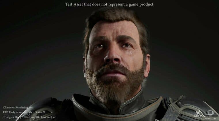 Imagen de Anticipando a Gears 6: Así luce la espectacular demo técnica en Unreal Engine 5 de The Coalition