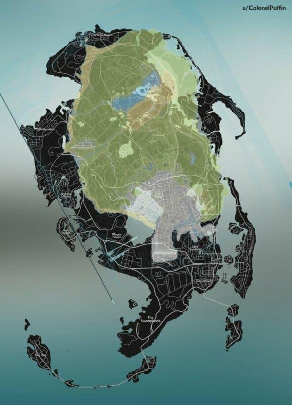 mapa gta 6 gta v