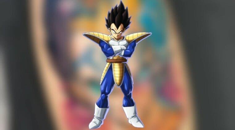 Imagen de Dragon Ball Z: Este tatuaje de Vegeta repasa todas las fases del personaje