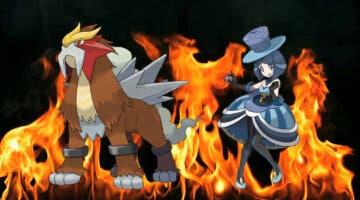Imagen de Pokémon Masters EX recibe a Vésper y Entei, su nueva pareja de compis