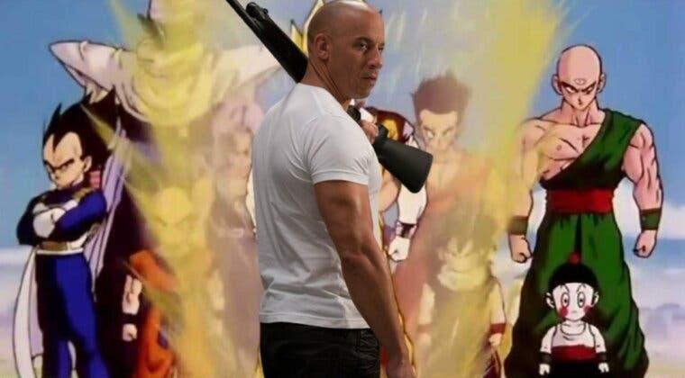 Imagen de Vin Diesel se cuela en los memes de Dragon Ball; no hay nada más fuerte que la familia