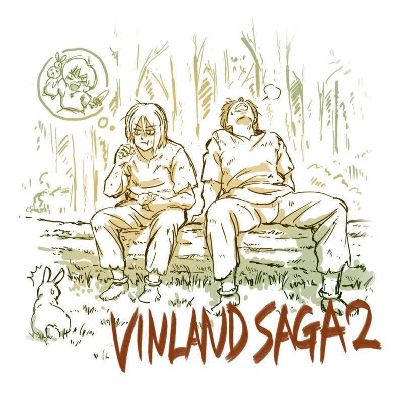 Vinland Saga dibujo Temporada 2