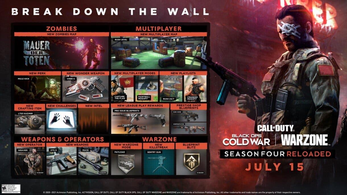 warzone season 4 reloaded hoja ruta
