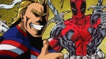 Imagen de Así es el manga de All Might (Boku no Hero Academia) y Deadpool que posiblemente no conozcas