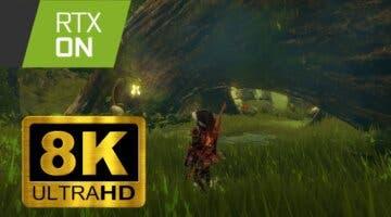 Imagen de La mejor versión de Hyrule; así es Zelda: Breath of the Wild con ray tracing y a 8K