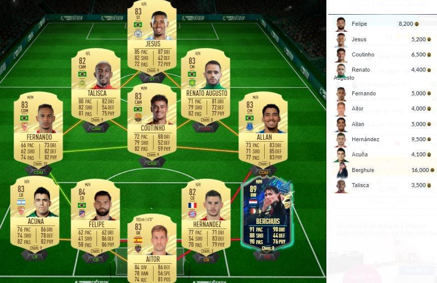 FIFA 21 Ultimate Team SBC Sané FUTTIES