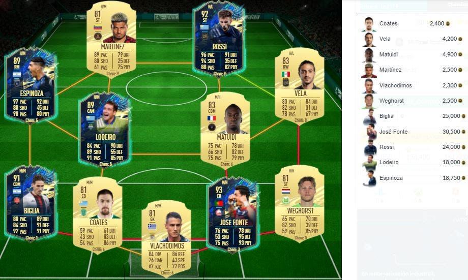 FIFA 21 Ultimate Team SBC Depay FUTTIES