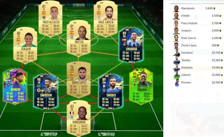 FIFA 21 Ultimate Team SBC Kanté FUTTIES
