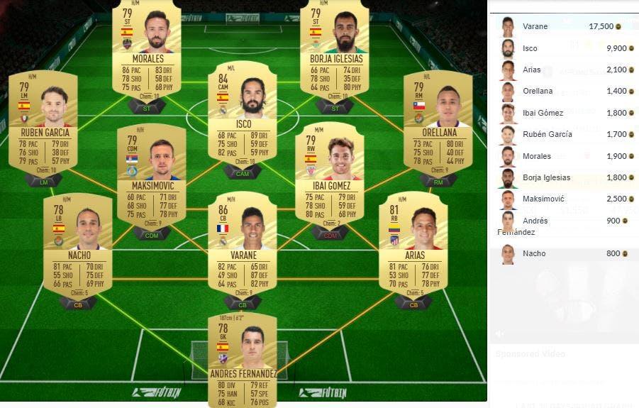FIFA 21 Ultimate Team SBC Renato Sanches FUTTIES