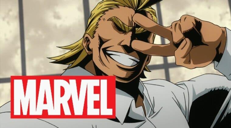 Imagen de Boku no Hero Academia: Un dibujante de Marvel ilustra a All Might con un gran resultado