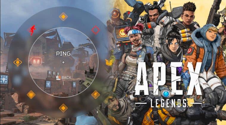 Imagen de EA ha patentado oficialmente el sistema de ping (marcado) de Apex Legends