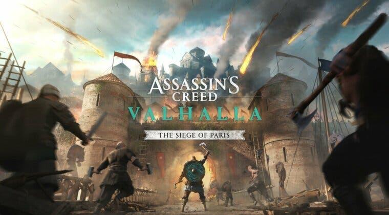 Imagen de Assassin's Creed Valhalla: El asedio de París  prepara su lanzamiento con un sangriento tráiler